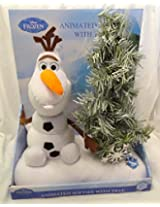 Disney Frozen Olaf Animated Softie With Tree