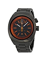 Movado Bold Black and Orange Dial Gunmetal Ion-plated Watch -MV3600213