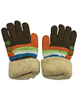 Graceway Unisex Gloves (4GL7, Multi-Coloured, Free Size)