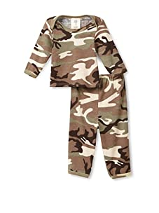 Mad Sky Baby Long Sleeve Lap Tee and Legging Set (Camo)