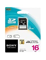 Sony 16GB SDHC Card - Class 4 - 15MBps