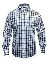 Pepe Jeans Blue Checks Casual Shirt