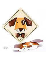 Hape - DIY Crafts - Puppy Face 3D Wall Art Kit