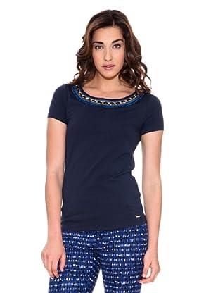 Pedro del Hierro Camiseta Cadenas (Azul marino)
