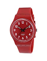 Swatch Cherry-Berry GR154 Analogue Watch - For Women
