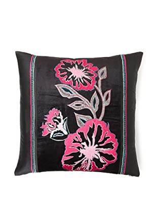 Design Accents Fuchsia Flower, Black, 20