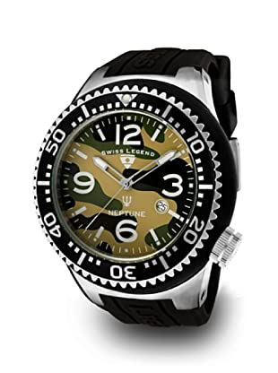 Swiss Legend Reloj Cuarzo Neptuno Camuflaje