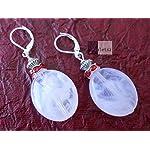 milky white earrings from violetsz