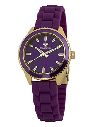 Wellington Damen-Armbanduhr Karamea Analog Silikon WN508-290A