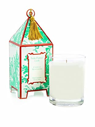 Seda France Crimson Amaryllis Pagoda Box Candle, 10-Oz.