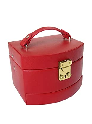 Morelle & Co. Laura Expandable Jewelry Box, Red