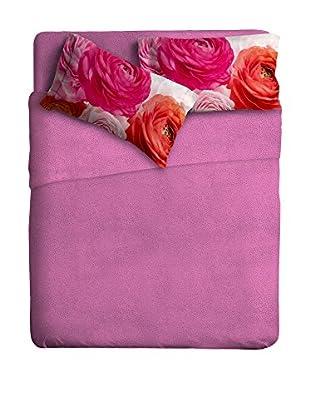 Ipersan Betttuch und Kissenbezug Fine-Art Bouquet