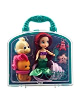 Official Disney The Little Mermaid Ariel Mini Animator Doll Playset With Accessories