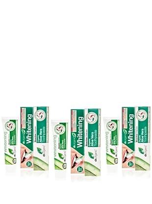 Dr.Organic Set 3 Dentífrico Aloe Vera 100Ml (u)
