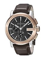 Gucci Analogue Black Dial Men's Watch - YA101202