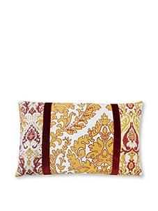 "Jiti Turkish Pieces 12"" x 20"" Pillow, Yellow Multi"
