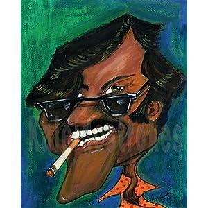Kaleidostrokes Caricature - Rajnikanth