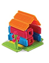 Edushape Magic Brix-Jumbo Pack, Multi Color, 140-Piece
