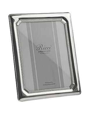 Ricci Tri-Bead Sterling Silver Frame, 5