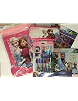 Disney Frozen Princess Elsa And Ana Back To School Set String Backpack, Pencil Case, Stationary Set And More!