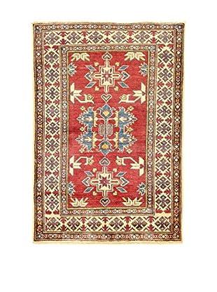 L'Eden del Tappeto Teppich Uzebekistan rot/beige 160t x t110 cm