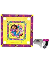 Dora The Explorer 2 In 1 Carrom Board With Ludo