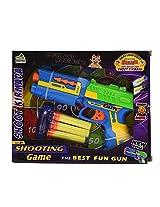 Chhota Bheem Soft Bullet Gun, Blue/Yellow