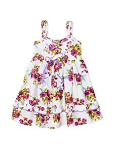 Country Baby Lily Dress (Country Roses Print)