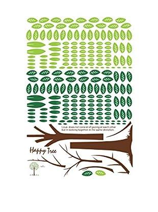 Ambiance Live Wandtattoo Happy Tree mehrfarbig