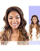 L. Deep (Motown Tress) Heat Resistant Fiber Lace Front Wig In 1