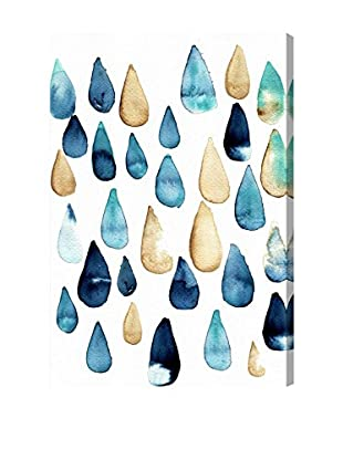 Oliver Gal 'Rain Drops Are Fallin' Canvas Art