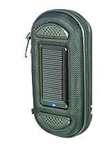 Powerplus Solar Speakers,800mAh Battery bank,0.38W Solar panel,Speakers,Mobile Charger