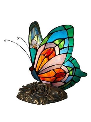 Arte Dal Mondo Nachtischlampe Farfalla