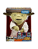 "Underground Toys Star Wars 16"" Battle Yoda Action Figure"