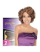 Outre Premium Purple Pack Romance Curl 3 Pcs Hair Extension (1 B)