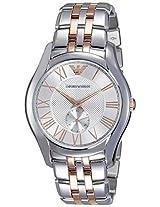 Emporio Armani Valente Analog Silver Dial Men's Watch - AR1824