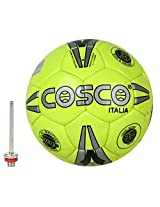 Cosco Italia Football, Size 3 (Black/Silver/Green)