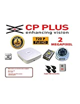 4CH cp plus dvr MERSK Cameras 1pcs -6arry Dome camera 2 megapixel power supply 8 High quality copper BNC connectors 1 audio microphone (Note CAMERAS ARE OF MERSK BRAND MADE IN TAIWAN)