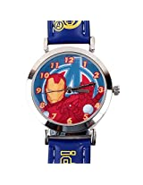 Iron Man Kids Analog Watch - Blue