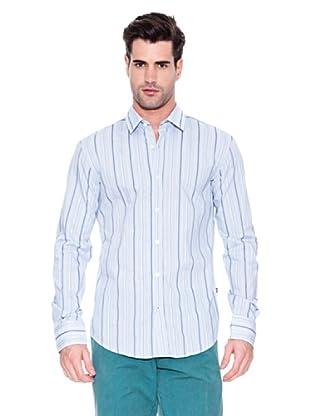 Hugo Boss Camisa Ronny (Celeste)