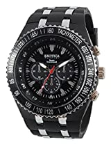 Exotica Polyurethane Black Analog Men Watch