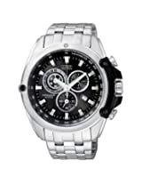 Citizen Chronograph AT0787-55F Black Round Chronograph Watch - For Men