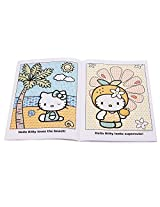 Hello Kitty Paint with Water Book 16 Tear Out Pages (4 Pack)