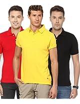 Concepts Men's Casual Shirt (TSHT_C3_RDBKYW_Multi_38)