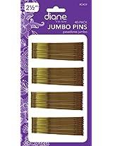 Diane Jumbo Bob Pins, Bronze, 40/card