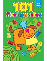 101 First Puzzles 3-5 Years