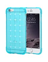 Iphone 6S Plus(5.5Inch) Case,Iphone 6 Plus Case,Rock(Tm) [Cubee Series] Bumper Case Cover For Iphone 6S Plus/Iphone 6 Plus 5.5Inch - Trans-Blue