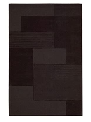 Calvin Klein Bowery GRID Rectangle Rug (Pepper)