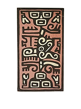Uptown Down Found Native American Motif Canvas Art