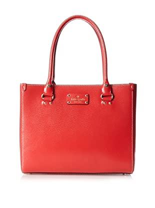 Kate Spade Women's Quinn Wellesley Satchel, Garnet
